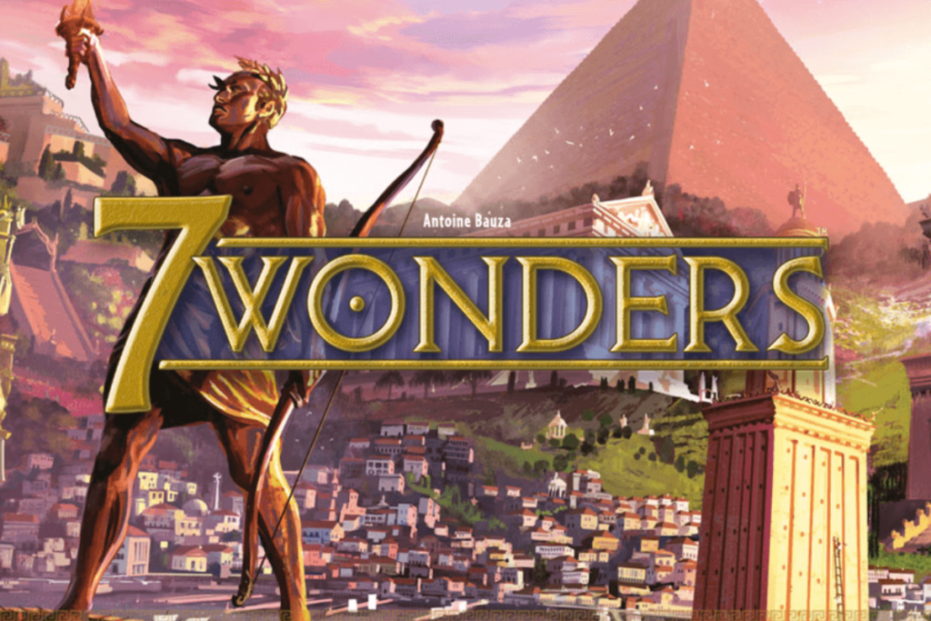 illustration 7 wonders- un jeu de iello