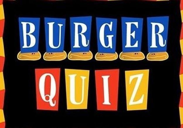 Illustration - burger quizz