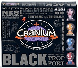 Illustration - Cranium Black