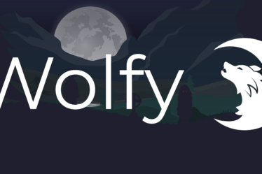 Illustration wolfy